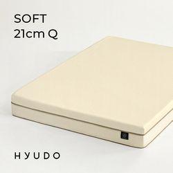 포근한 제주 21cm 롤팩 메모리폼 퀸 침대 매트리스 (Q