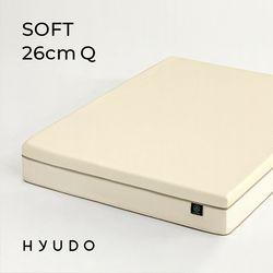 포근한 제주 26cm 롤팩 메모리폼 퀸 침대 매트리스 (Q