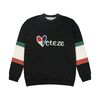 Heart colorblock MTM (black)