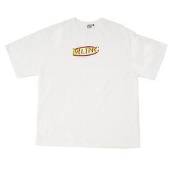 [믈링]MLDONALD 1/2 T SHIRT (WHITE) 티셔츠