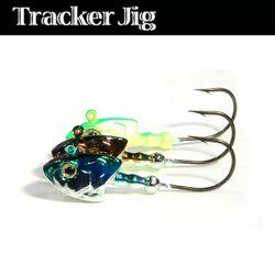 민물 루어낚시 루어웜 가짜 공갈 미끼 Tracker Jig 8g