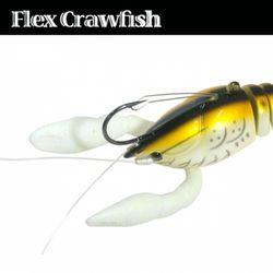민물 루어낚시 루어웜 가짜 공갈 미끼 Flex Crawfish