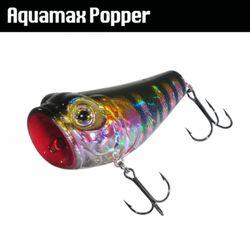 민물 루어낚시 웜 가짜 공갈 미끼 Aquamax Popper 80