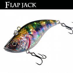 민물 루어낚시 루어웜 가짜 공갈 미끼 Flap Jack 75