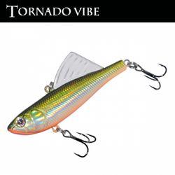 민물 루어낚시 루어웜 가짜 공갈미끼 Tornado Vibe 65