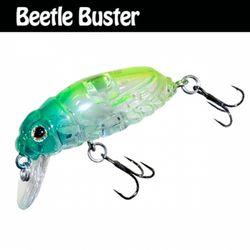 민물 루어낚시 루어웜 가짜공갈미끼 Beetle Buster 40