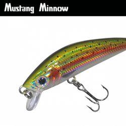 민물루어낚시 루어웜 가짜공갈미끼 Mustang Minnow 60