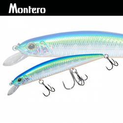 민물 루어낚시 루어웜 가짜 공갈 미끼 Montero 130