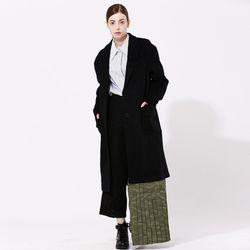 WunderGeist Unbalance Overfit Wool Coat