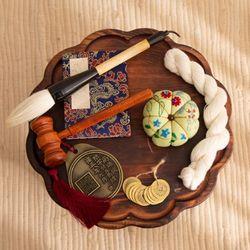 전통 돌잡이 7종 세트 (청색)