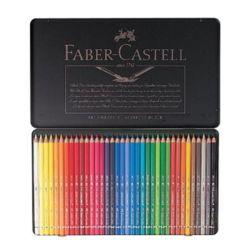 파버카스텔 전문 수채색연필(36색-틴케이스-117536) M