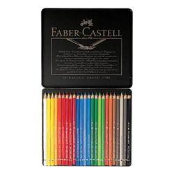 파버카스텔 전문 수채색연필(24색-틴케이스-117524) M