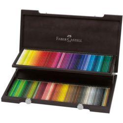 파버카스텔 전문가용 유성색연필 120색 우드케이스