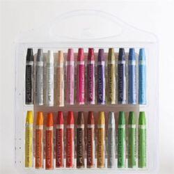 파버카스텔 24색 크레파스 색연필 색칠공부