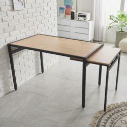 반슨 스틸 확장형 식탁 테이블 4인
