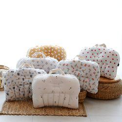 접이식 휴대용 아기침대 면 매쉬 양면사용 5중절개라인 7종