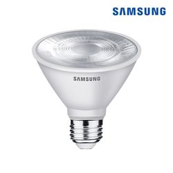 삼성전자 LED 12W 파30 램프 전구색 노란빛 par30