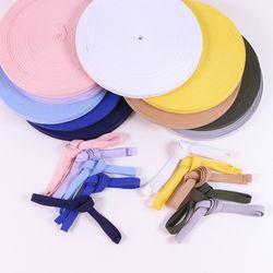 헤링본 면 테이프 끈 마스크 목걸이 재료 10color