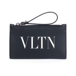 20FW VLTN 로고 카드지갑 블랙 UY2P0540 LVN