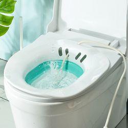 PH 접이식 가정용 좌욕기 (수동 펌프)