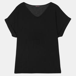 찰랑 브이 루즈핏 티셔츠(2Color) TRRA209D1