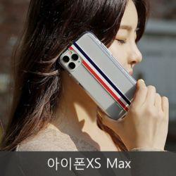 와프 아이폰XS Max WLT 심플라인 투명젤리케이스