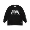 SIDE B OVERSIZED LONG SLEEVES T-SHIRTS BLACK