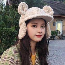 프란 귀요미 뽀글이 방한모자 귀달이 모자