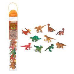 680104 아기공룡 튜브 공룡피규어