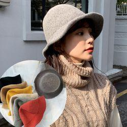 로킹 니트 여성 겨울 버킷햇 벙거지