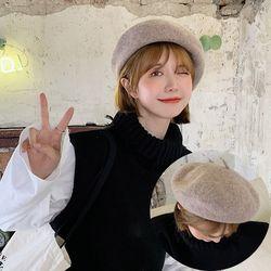 안느 여성 버킷햇 빵모자 화가모자