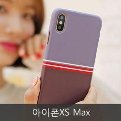 와프 아이폰XS Max WME 심플 하드케이스