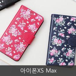 와프 아이폰XS Max WMQ 로즈 다이어리케이스