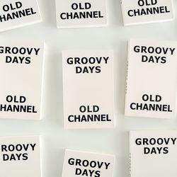 GROOVY DAYS DIARY - Vintage Black