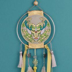 전통 영물 드림캐쳐 (기린)