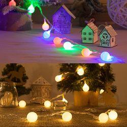 (2+리튬전구)크리스마스 트리 LED전구 연결용 8종모음