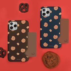 나인어클락 쿠키키 쿠키 패턴 하드 카드수납 카드슬림 케이스