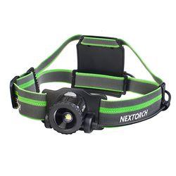 Nextorch 550루멘 USB충전식 헤드랜턴 MyStar-그린
