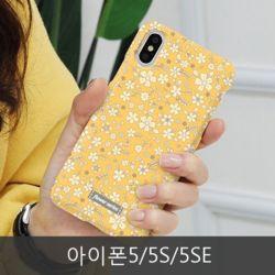 와프 아이폰5/5S/5SE WND 스몰플라워 하드케이스