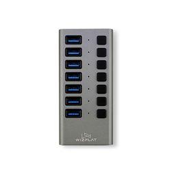 위즈플랫 USB3.0 7포트 허브 WIZ-H72S