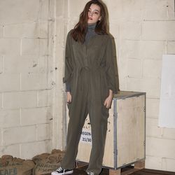 [마나비스세븐] TIFFANY JUMP SUIT KHAKI