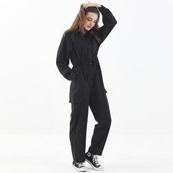 [마나비스세븐] TIFFANY JUMP SUIT BLACK