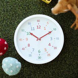 300파이 어린이 시계 공부 벽시계