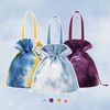 TIE DYE BUCKET CROSS BAG