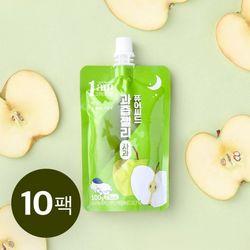 퓨어씨드 과즙 곤약젤리 사과맛 100g x 10개