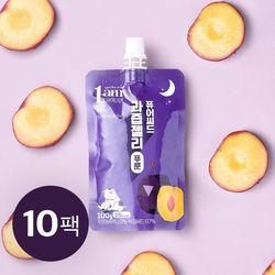 퓨어씨드 과즙 곤약젤리 푸룬맛 100g x 10개