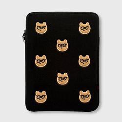 pattern 안경 gummy laptop pouch