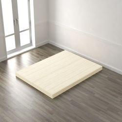 편백나무 저상형 완료 퀸 침대(매트제외) DLA044