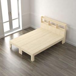 편백나무 헤드형 완료 퀸 침대(매트제외) DLA050