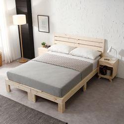 레드파인 평상형 퀸 침대 FIF025
